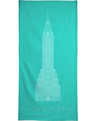 The Chrysler Building Bath Towel