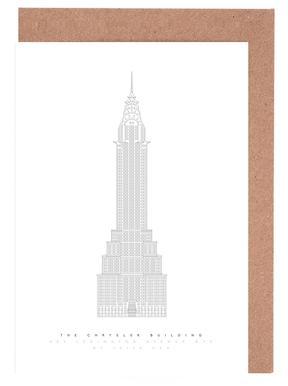The Chrysler Building Set de cartes de vœux