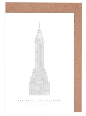 The Chrysler Building wenskaartenset