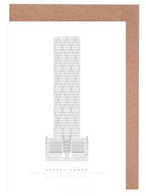 Hearst Tower wenskaartenset