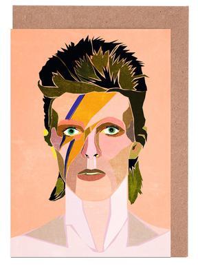 David Bowie Portrait Set de cartes de vœux