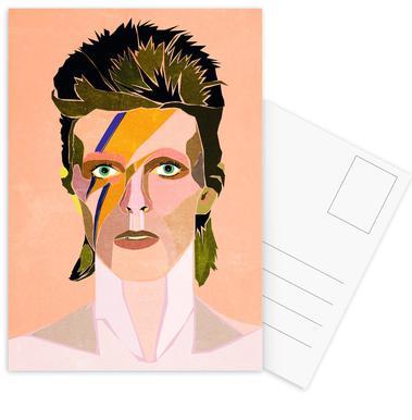 David Bowie Portrait ansichtkaartenset