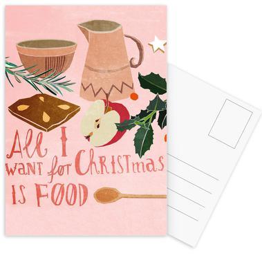 Christmas als Poster im Holzrahmen von Eva Wünsch | JUNIQE