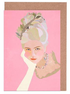 Marie Antoinette Portrait Set de cartes de vœux