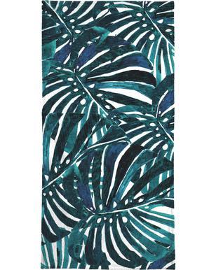 Monstera Pattern II Beach Towel