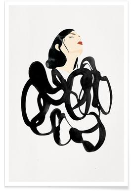 Ink Woman Poster