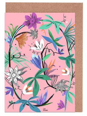 Botanica Passionflower 3 Greeting Card Set