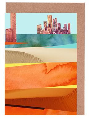 Lost Cities Desert Grußkartenset