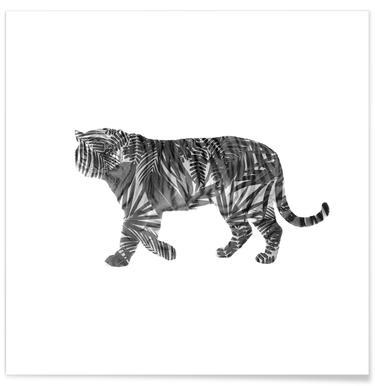 Tiger Poster und Bilder mit Tigern online bestellen | JUNIQE