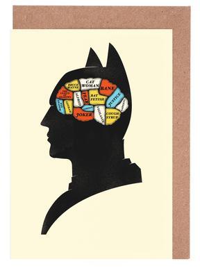 Batman Set de cartes de vœux