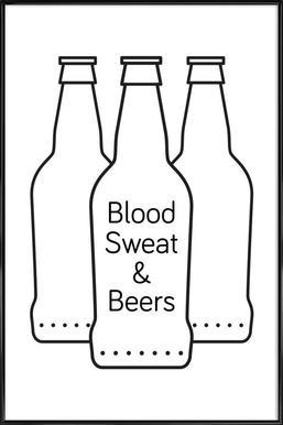 Beer Poster in Standard Frame