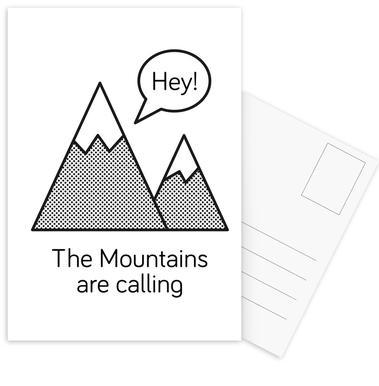 Mountains Postcard Set