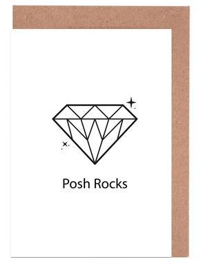 Posh Set de cartes de vœux