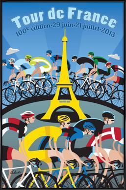Tour de France Framed Poster