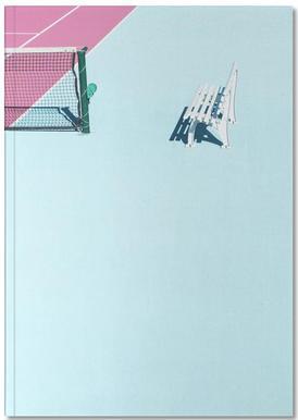 Pink Court - Bench Notebook