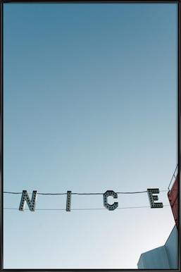 Ve-Nice -Bild mit Kunststoffrahmen