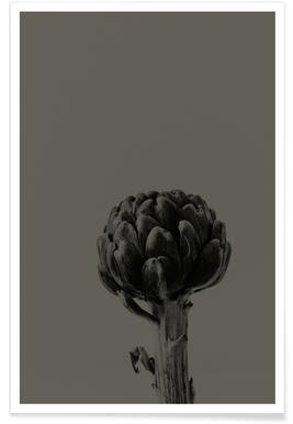 Artichoke Brown Poster
