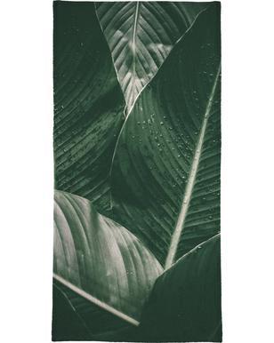 Palm Drops Beach Towel