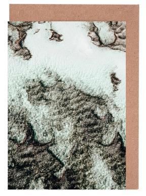 Beach Sea Pattern 3 wenskaartenset