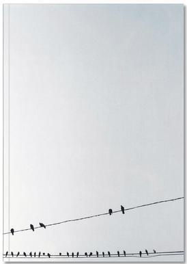 Birds Notizbuch