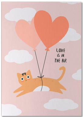 Love Is in the Air Notepad