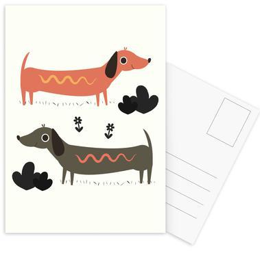 Wiener Dogs ansichtkaartenset