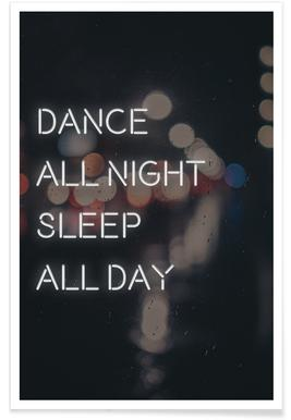 Dance all day Poster
