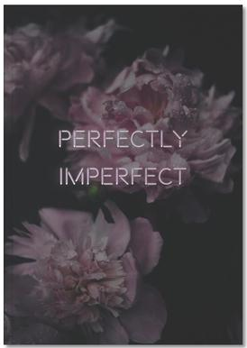 Perfectly imperfect Notizbuch
