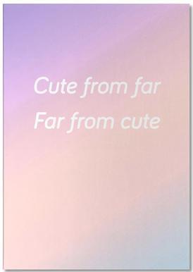 Cute From Far Bloc-notes