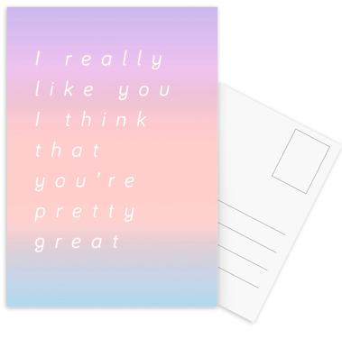 I Think You Are Great ansichtkaartenset