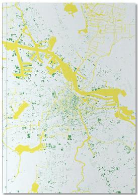 Amsterdam Green Notebook