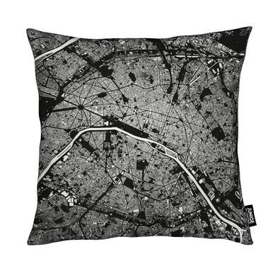 Paris Black Cushion