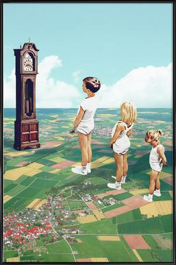 Some Kids Can´t Wait to Grow Up Affiche sous cadre standard