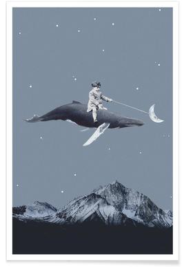 Aim For the Moon Poster