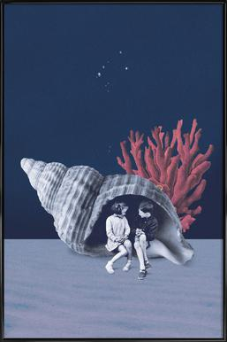 Can You Hear the Ocean? -Bild mit Kunststoffrahmen