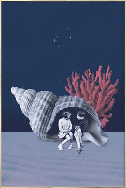Can You Hear the Ocean? -Poster im Alurahmen