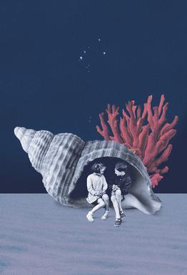 Can You Hear the Ocean? -Acrylglasbild
