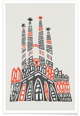 Sagrada Familia Poster