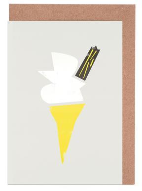 Vanilla Cone wenskaartenset