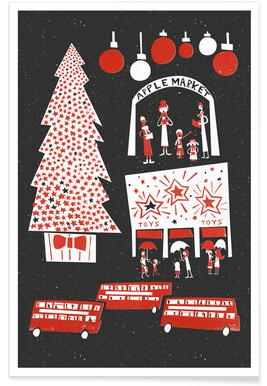 Christmas In London Affiche