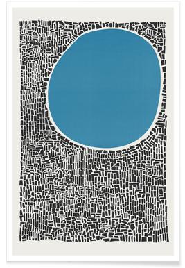 Blue Lake Affiche