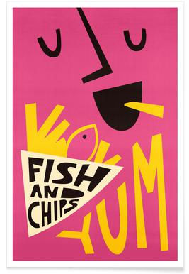 Yum Fish and Chips affiche