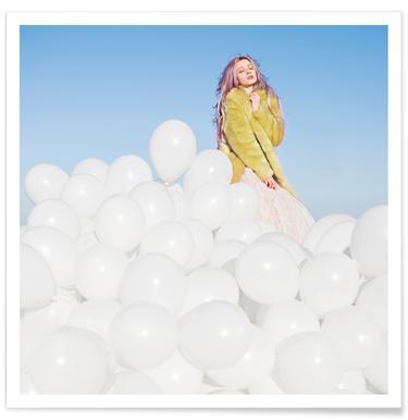 300 Balloons Poster