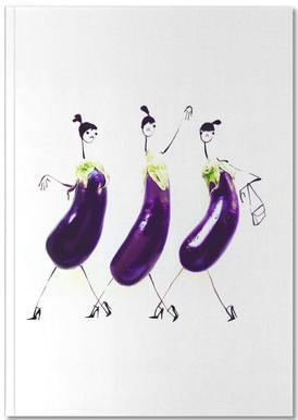 Eggplant Notitieboekje