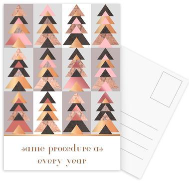 Alle Jahre wieder Postcard Set