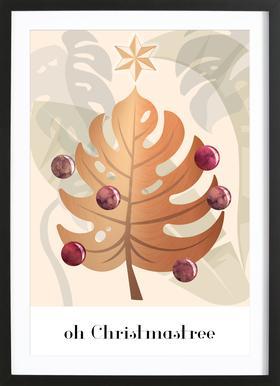Oh Christmastree Framed Print