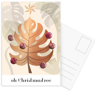 Oh Christmastree Postcard Set