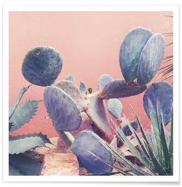Into the Tropics (Pink) Poster