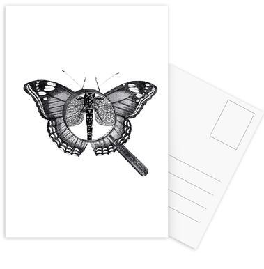 Loeping Good (Butterfly) ansichtkaartenset