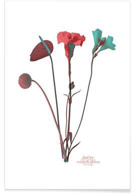 Ode aux Fleurs (Mint) affiche